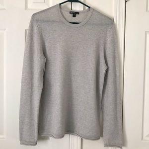 James Perse gray long sleeve top